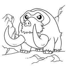 Free Pokemon Diamond Pearl Coloring Page Pages 99 Printable