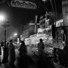 Paris by Night 3, 1950's, Kees Scherer.