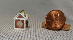 1/12th Scale Dollhouse Miniature Gingerbread House by KyleLefort