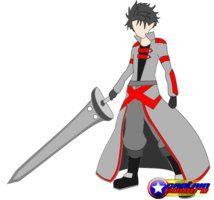Anime Swordsman by captaineduard