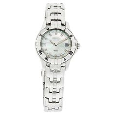 Seiko Excelsior Ladies Diamond Mop Dial SS Dress Watch New Women's Dress Watches, Seiko, Graduation, Diamond, Lady, Accessories, Pug, Moving On, Diamonds