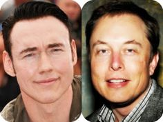 #ElonMusk looks like #KevinDurand #lookalike Handsome Men the Mysterious Eyes within Wondering Mystery is Wonderment