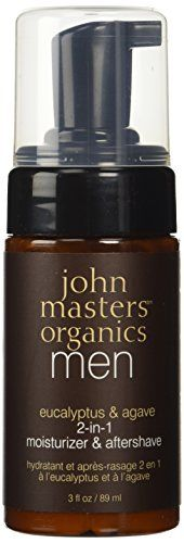 John Masters Organics Eucalyptus  Agave 2in1 Moisturizer  Aftershave 3 fl oz  89 ml -- Visit the image link more details.