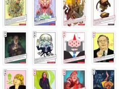 A card deck illustrated by 28 artists from around the world #Occupy