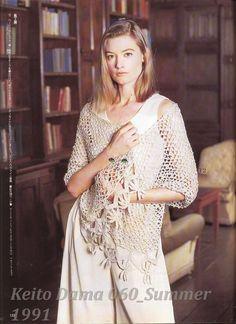 Inspirações de Croche com Any Lucy: Estola