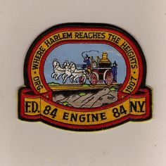 "FDNY Engine 84  ""Where Harlem reaches the Heights"""