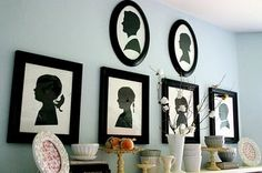 Silhouette Ideas for the home