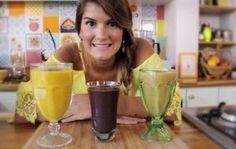 A chef Tati Lund ensina três receitas de sucos funcionais - Opções são: suco da beleza, shake energizante e vitamina acorda intestino
