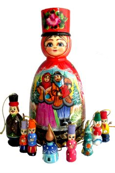 Matryoshka Doll, Gift Ideas, Handicraft
