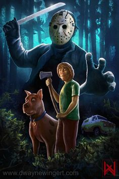 Scooby doo vs Jason