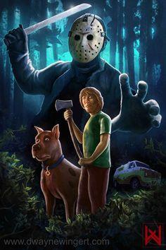 Scooby doo vs Jason