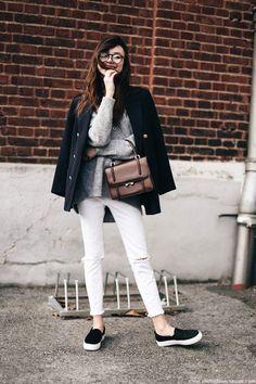 5 Formas Minimalista De Usar Tu Abrigo   Cut & Paste – Blog de Moda