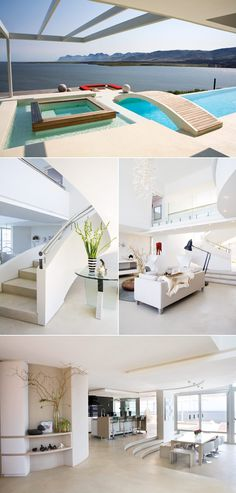 Love the layout for this house. The view, the open space, the flow and colour are so calming.