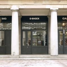 The G-Shock shop in Covent Garden.