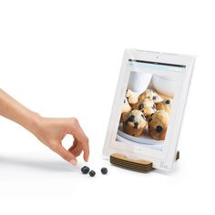 Whether you're following a recipe or watching Netflix, cook alongside your iPad with this stand. Available at the Food Network Store.