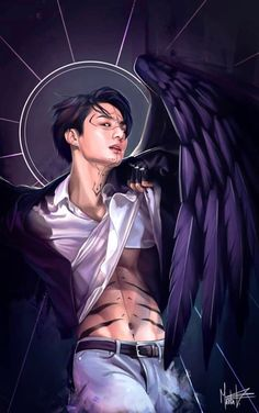 Bts fanart jugkook fake love as demon