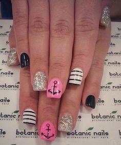 Instagram photo of acrylic nails by botanicnails