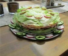 Rezept SALATTORTE von Snowbella - Rezept der Kategorie Vorspeisen/Salate