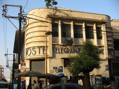 Beautiful example of Streamline Deco in West Africa - Dakar, Senegal.