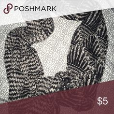 Scarf Black and white scarf Hollister Accessories Scarves & Wraps