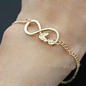 Love Word Letters Infinite Infinity Chain Bra... – USD $ 2.99