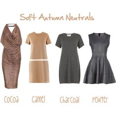 """Soft Autumn Neutrals"" by jeaninebyers on Polyvore"