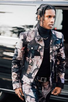 A$AP Rocky in Dior Mosh jacket http://www.99wtf.net/young-style/urban-style/mens-ideas-dress-casually-fashion-2016/