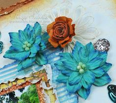 Twine Flower Tutorial and Father's Day Card