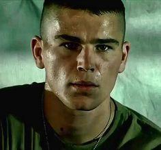 "Josh Hartnett en ""Black Hawk derribado"", 2001"