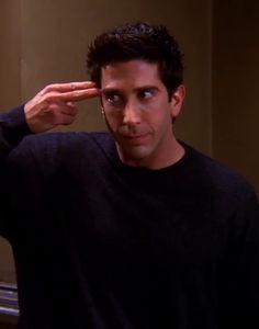 """I got """"Ross Geller""""! Tv: Friends, Serie Friends, Friends Scenes, Friends Cast, Friends Episodes, Friends Moments, Friends Tv Show, Friends Season, Ross Geller"""