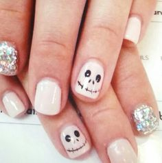 Cute chic jack nails