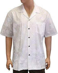 La Ele White Cotton Island Groom Shirt Hawaii Wedding Place
