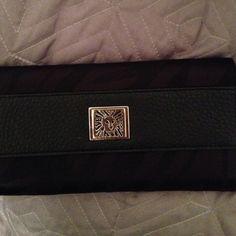 Anne Klein Black Zebra Wallet Anne Klein Black Zebra Wallet 7/10 Anne Klein Accessories