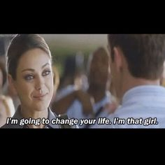 A cute moment in an otherwise so-so movie - Friends with Benefits