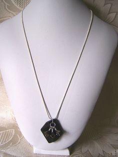Swarovski Cosmic Cut Pendant with Wire by lindasoriginaljewels, $30.00