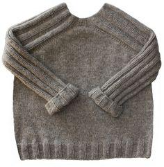 Fiche tricot à découvrir sur le site Les Tricots de Cecile modèle de pull pour garçon