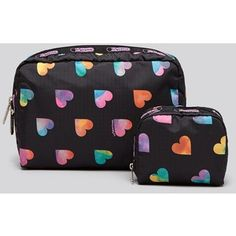 LeSportsac Cosmetic Pouch Set - Extra Large Rectangle & Square