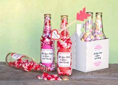 valentines day packaging - Buscar con Google Valentines Gif, Valentines Bricolage, Valentines Presents, Valentine Crafts For Kids, Homemade Valentines, Valentine Ideas, Nurse Gifts, Teacher Gifts, Cool Diy