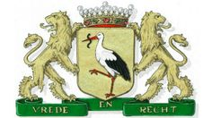 Den Haag coat of arms Beautiful S, The Hague, Coat Of Arms, Rotterdam, Old And New, Netherlands, Holiday Decor, Pictures, Animals