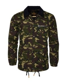 Superdry Supersonic Canvas Coach Jacket In Camo Green Superdry Mens, Unisex Baby Clothes, Women's Socks & Hosiery, Jackets Online, Trendy Plus Size, Girls Shoes, Perfect Fit, Bag Accessories, Military Jacket