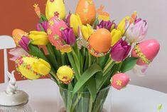 Pâques - Bouquet de Pâques - Loisirs Créatifs Pas à Pas Créatifs