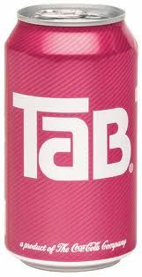 .Tab cola...pink...lol..gotta pin this..it's my hubby's name! yes! and not a nickname!..