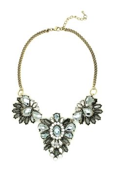 Triple Crystal Necklace from HauteLook