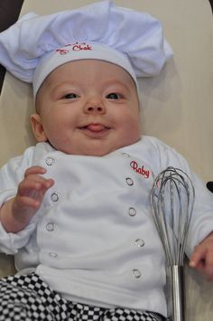 Sweet Baby Chef Costume - Love