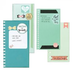 Sizzix Thinlits Die Set 2PK - Planner Page Bindables - Planner Pages - Column 1 - Products