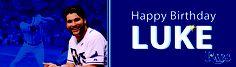 Happy Birthday to our Wolverine LUKE SCOTT!