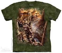 The Mountain Cougar T-shirt   Find 12 Cougars, New 2014 Adult T-shirts from The Mountain, 103805