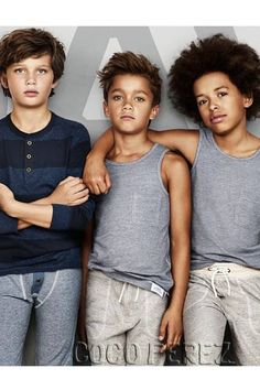 David Beckham releases a new line of H&M bodywear specifically for boys!