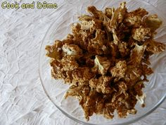Un pop corn de chou-fleur aussi original que délicieux et léger !