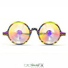 24ed4dc67cb Dope Tribal Kaleidoscope Glasses- Rainbow http   iedm.com  Wholesale  Sunglasses